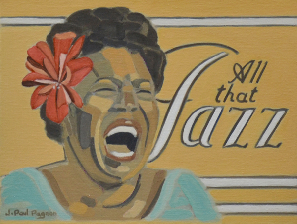 ALL THAT JAZZ Peinture jean-Paul Pagnon