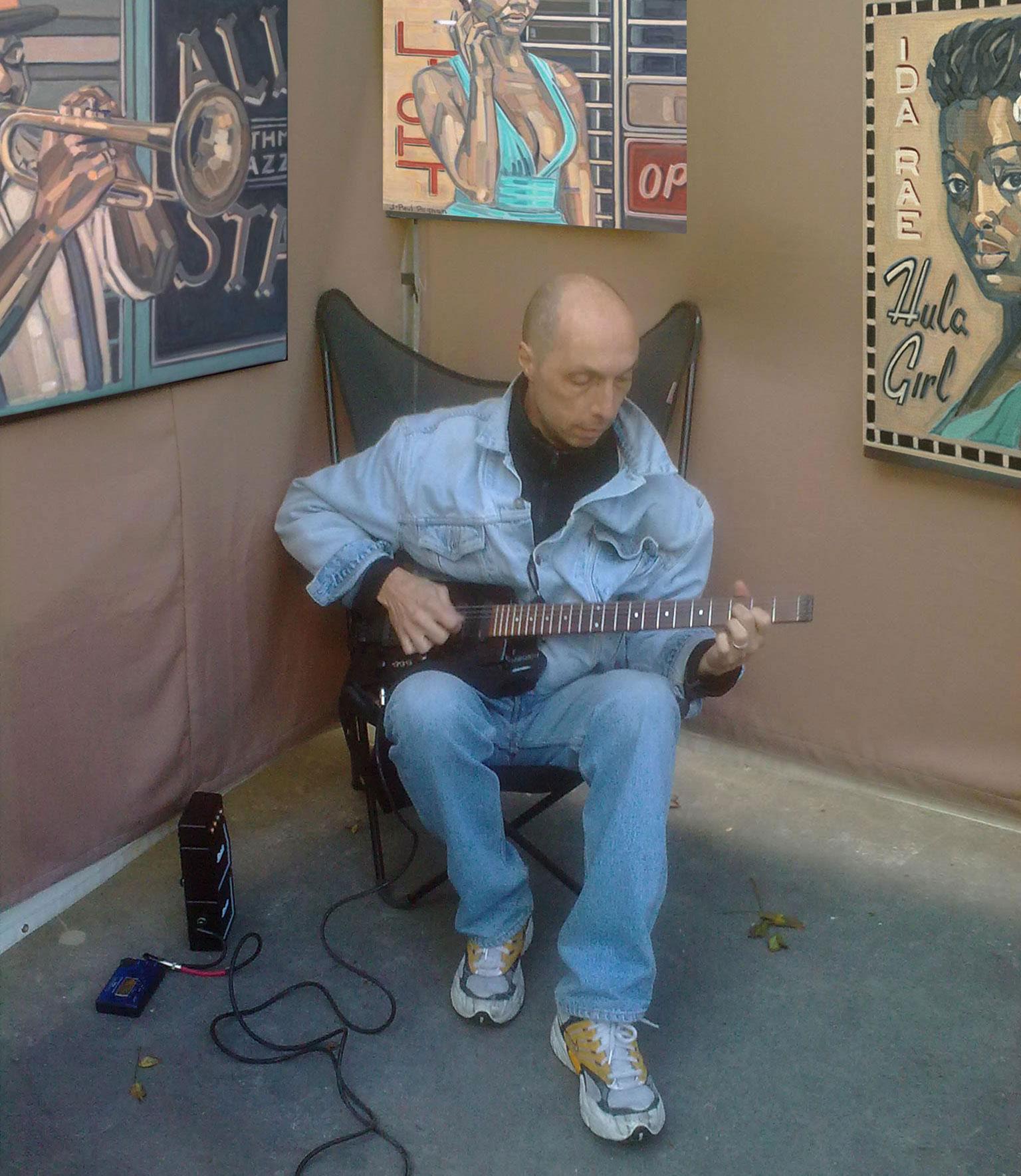j-paul pagnon blues jazz