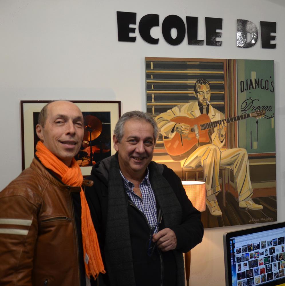 Jean-Paul Pagnon et Romane Manetti