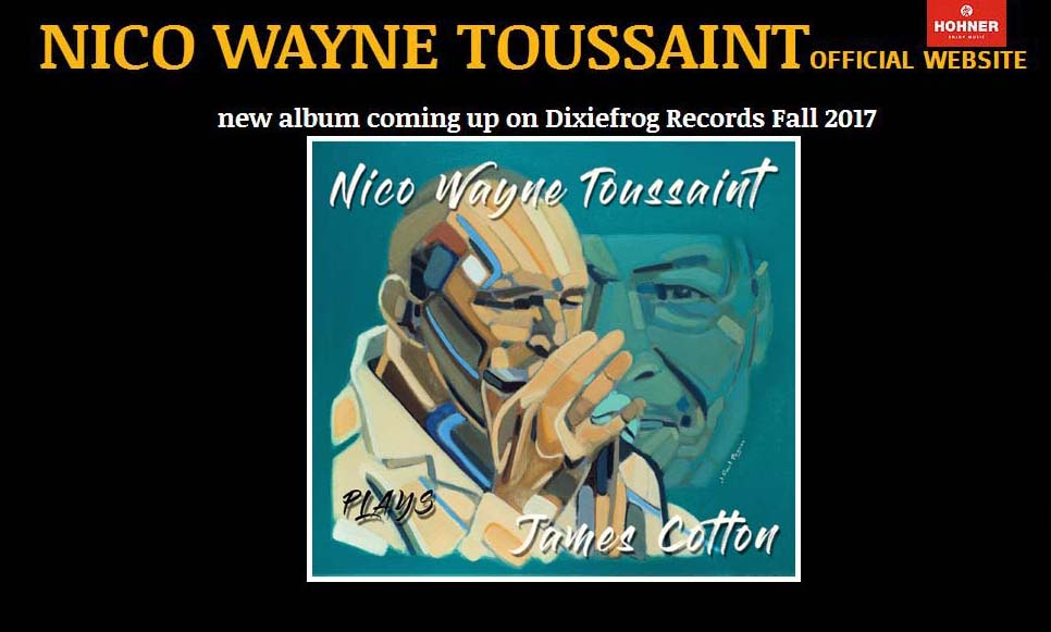 Nico Wayne Toussaint official website