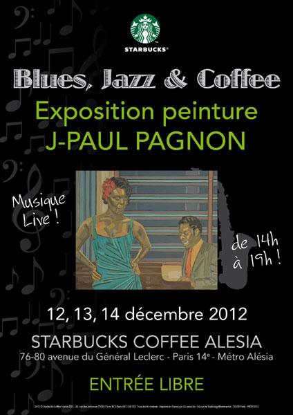 j-paul pagnon peintures starbucks coffee