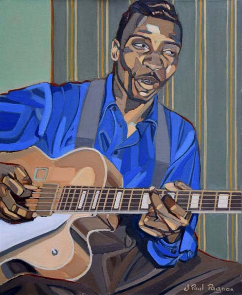 Blues Bone peinture jean-paul pagnon
